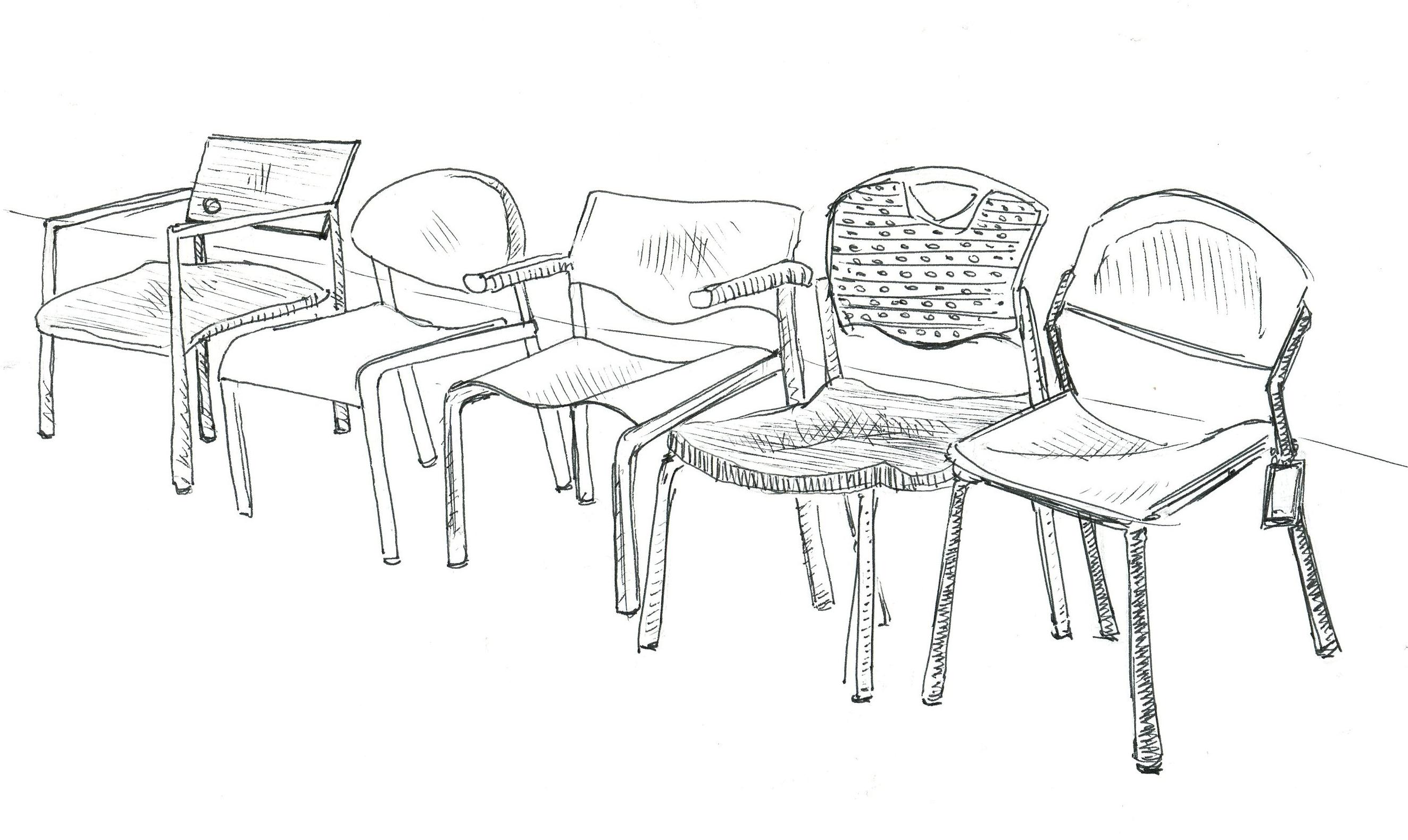 chairs | sketchbookfactory